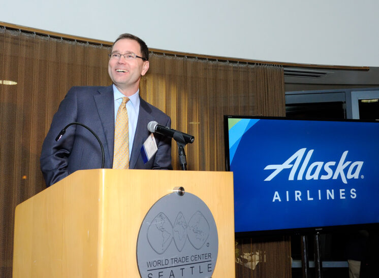 World Trade Center Seattle with Brad Tilden, CEO Alaska Airlines